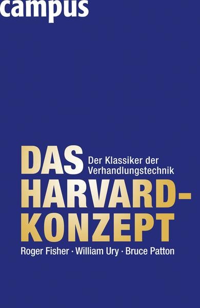 Fisher, Ury Patton. Das Harvard Konzept